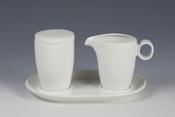 Maastricht Porselein Lux melk en suikerset