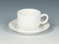 Palmer Royal Ivory Koffie stapelbaar laag